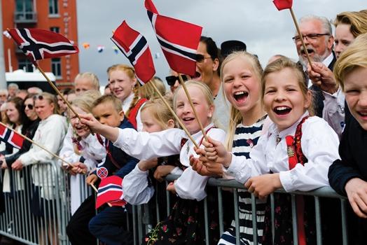 (Italiano) La Norvegia è stata nominata il Paese più felice del mondo nel 2017