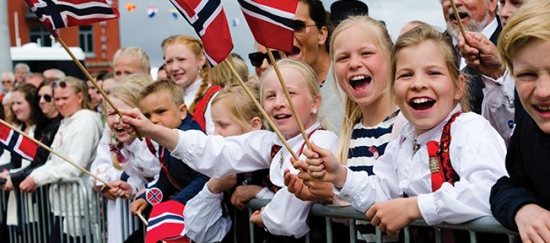 La Norvegia è stata nominata il Paese più felice del mondo nel 2017