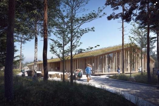 """La """"casa"""": il museo Norvegese d'ispirazione italiana"""