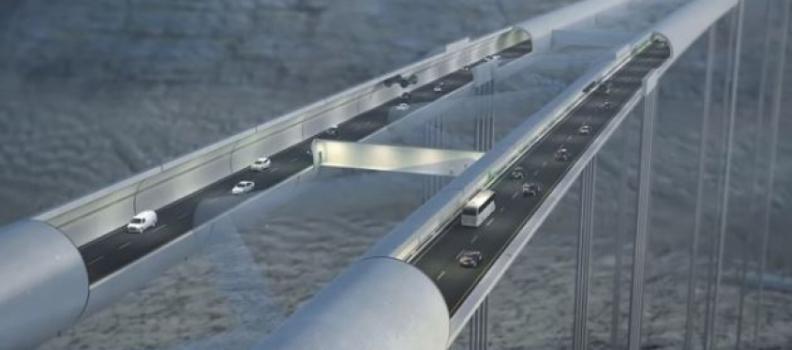 Norvegia: arriva il ponte di Archimede