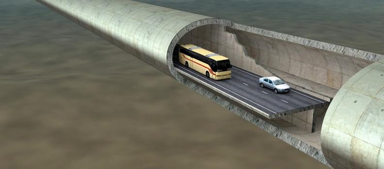 (Italiano) Norvegia: l'incredibile tunnel sotterraneo tra i fiordi (progettato da un ingegnere italiano)