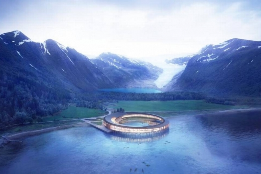 Norvegia: l'albergo più settentrionale del mondo
