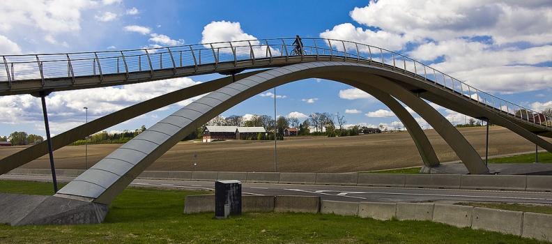 """Norvegia: ponte """"Leonardo da Vinci"""""""