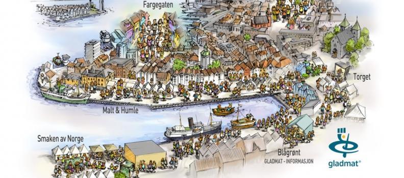 Dal 18 al 21: torna il Gladmat a Stavanger