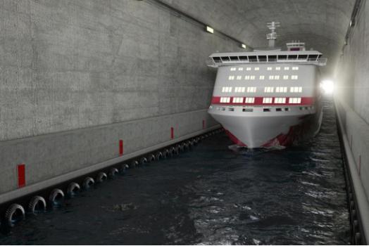 In Norvegia il primo tunnel al mondo per le imbarcazioni
