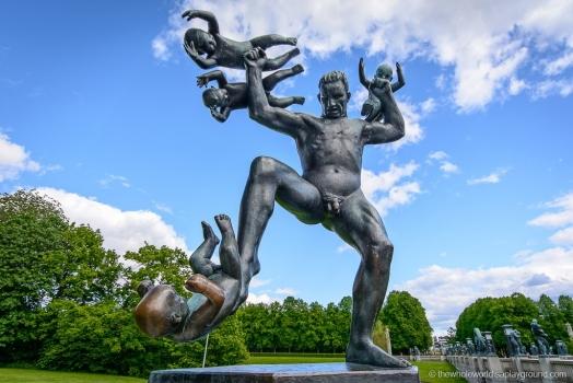 Il parco più attrattivo della Norvegia: Vigeland Park/Frogner Park