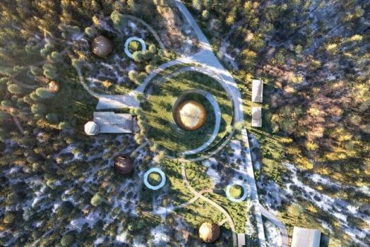 Norvegia: il nuovo planetario firmato Snøhetta