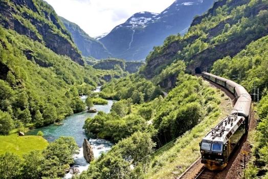 (Italiano) Esplorare la Norvegia in treno