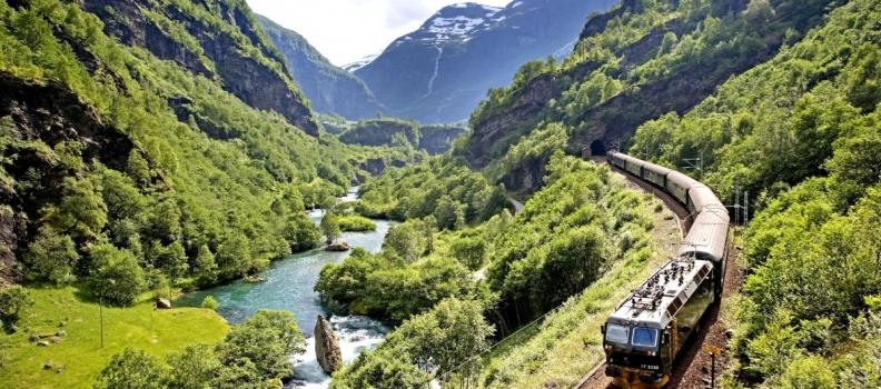 Esplorare la Norvegia in treno
