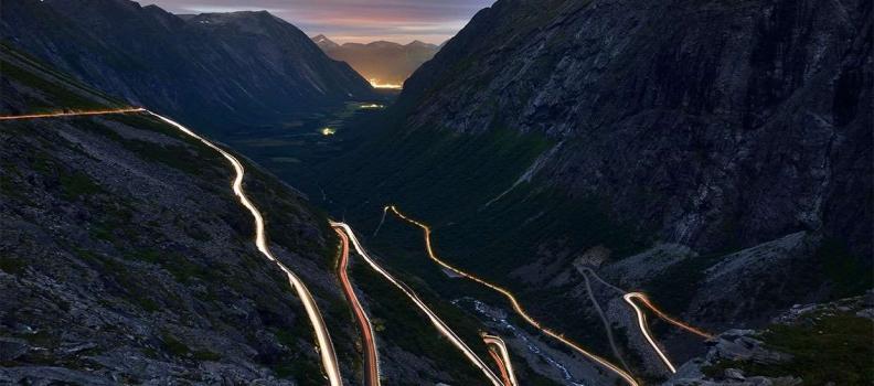 Norvegia: le attrazioni sull'architettura della strada