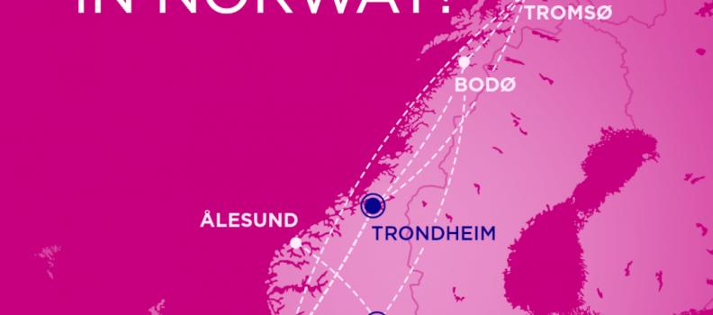 Norvegia: La compagnia aerea Wizz Air ha annunciato la base di Trondheim e 7 nuove rotte nazionali