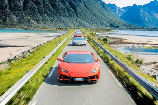 Lamborghini Avventura: nuova tappa in Norvegia