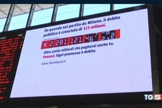"""Italia e Norvegia: """"debito pubblico"""" a confronto con """"credito pubblico""""."""